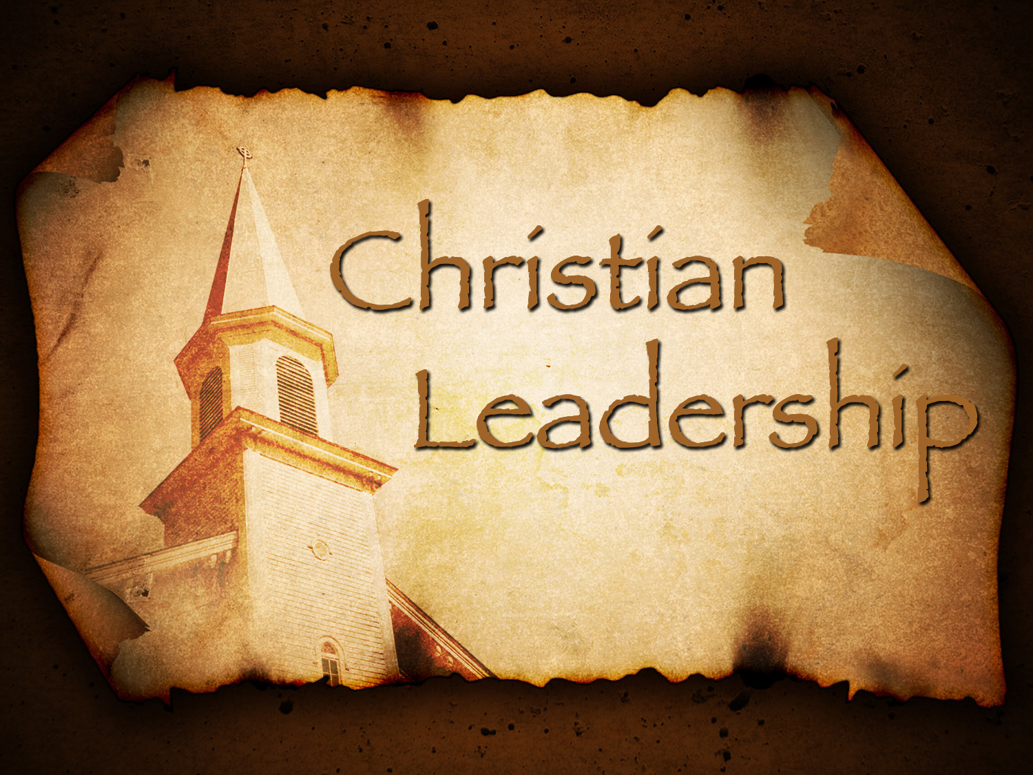 christain leadership A final word on christian leaders comes from the article wanted: a few good shepherds (must know how to wash feet) by john macarthur: under the plan god has ordained for the church, leadership is a position of humble, loving service.